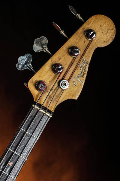 Photograph - 23.1834 011.1834c Jazz Bass 1969 Old 69 by M K Miller