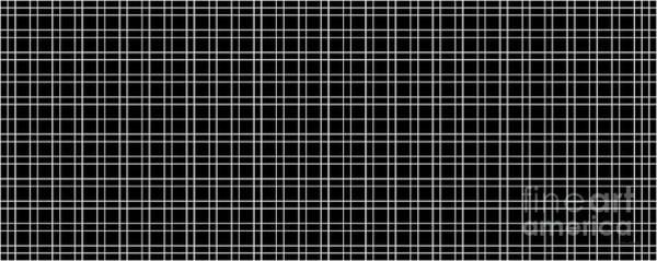 Painting - 23c Abstract Geometric Digital Art Black by Ricardos Creations