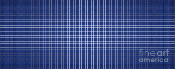 Painting - 23c4 Abstract Geometric Digital Art Blue by Ricardos Creations