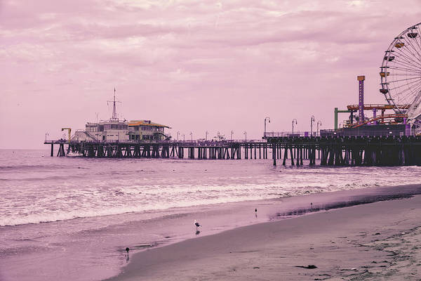 Photograph - Santa Monica Pier Collection- 21/36 by Gene Parks