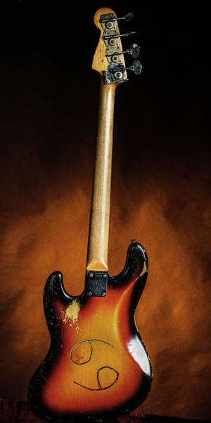 Photograph - 24.1834 011.1834c Jazz Bass 1969 Old 69 by M K Miller
