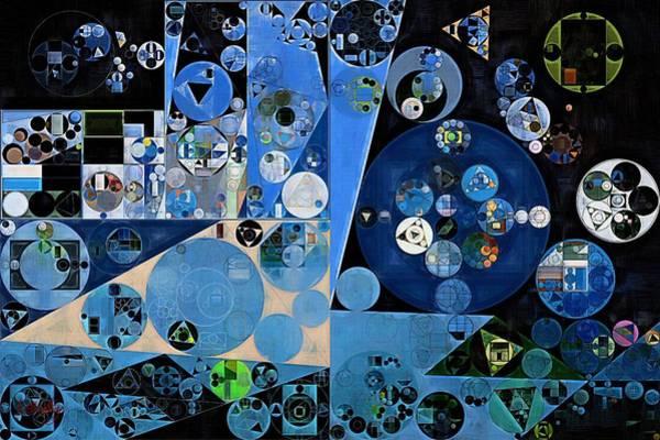 Wall Art - Digital Art - Abstract Painting - Onyx by Vitaliy Gladkiy