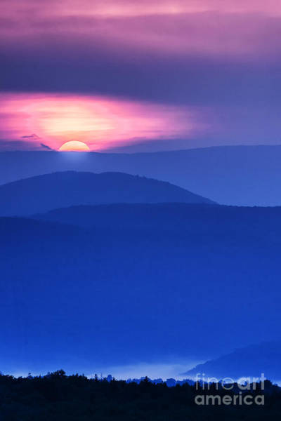 Highland Scenic Highway Wall Art - Photograph - Allegheny Mountain Sunrise #8 by Thomas R Fletcher