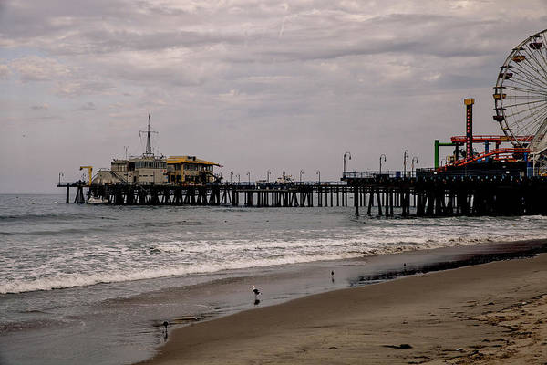 Photograph - Santa Monica Pier Collection- 31/36 by Gene Parks