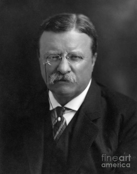 Photograph - Theodore Roosevelt  by Granger