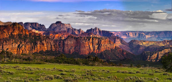 Wall Art - Photograph - Zion National Park by Douglas Pulsipher