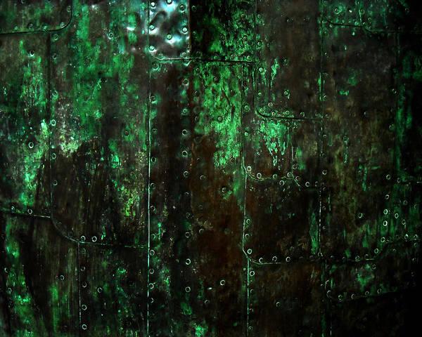 Patina Digital Art - 2525 Ad Copper Wall 01 by Nilla Haluska