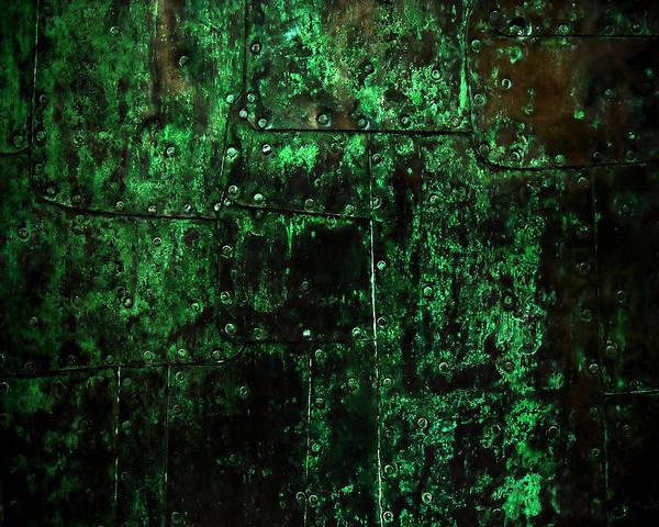 Patina Digital Art - 2525 Ad Copper Wall 02 by Nilla Haluska