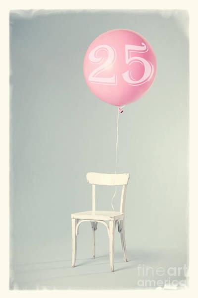 Birthday Cards Wall Art - Photograph - 25th Birthday by Edward Fielding