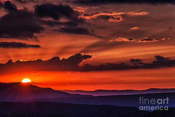 Highland Scenic Highway Wall Art - Photograph - Allegheny Mountain Sunrise by Thomas R Fletcher
