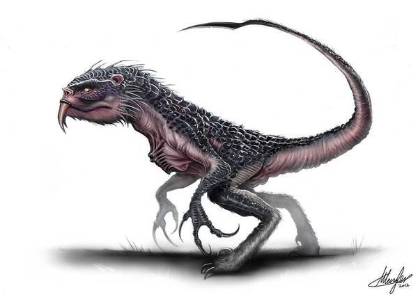 Fantasy Digital Art - Creature by Super Lovely