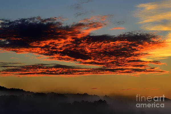 Allegheny Mountains Wall Art - Photograph - Misty Mountain Sunrise by Thomas R Fletcher