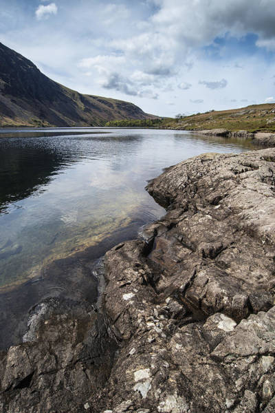 Wast Wall Art - Photograph - Stunning Blue Sky And Mountain Reflections In Wast Water Landsca by Matthew Gibson