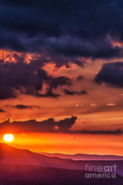 Highland Scenic Highway Wall Art - Photograph - Allegheny Mountain Sunrise #17 by Thomas R Fletcher
