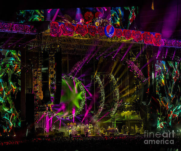 Phil Lesh Photograph - The Grateful Dead At Soldier Field Fare Thee Well by David Oppenheimer