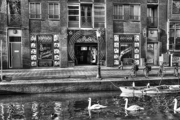 Swan Boats Digital Art - 271 Amsterdam by Mark Brooks