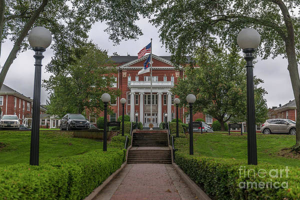 Photograph - Anderson University by Dale Powell