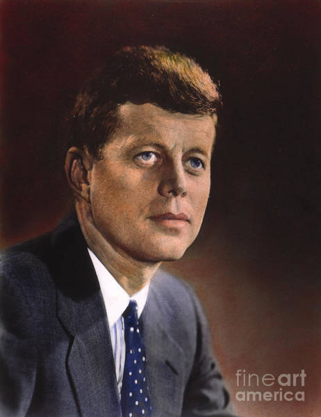 Democratic Party Photograph - John F. Kennedy by Granger
