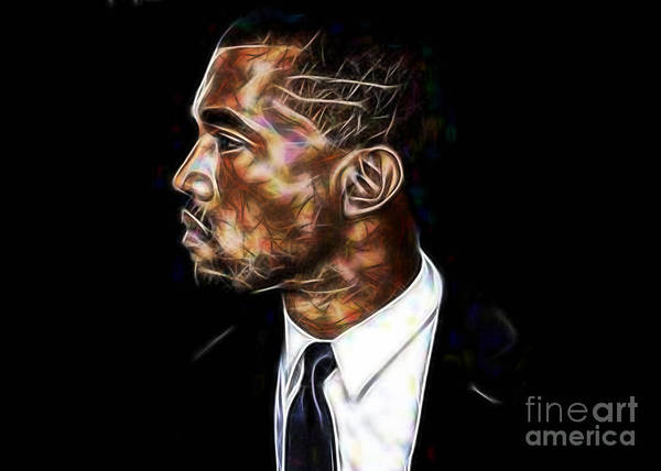 Wall Art - Mixed Media - Kanye West Collection by Marvin Blaine