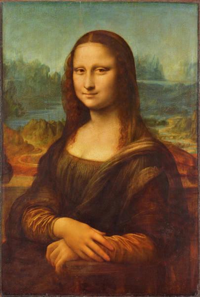 Wall Art - Painting - Mona Lisa by Leonardo da Vinci