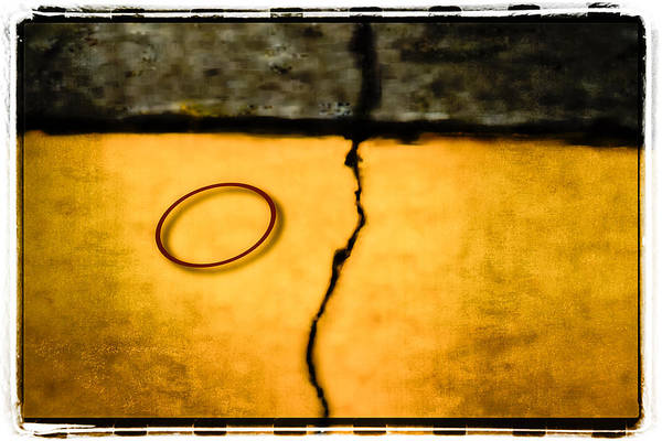 Photograph - Red Rubber Band by Mark Holcomb
