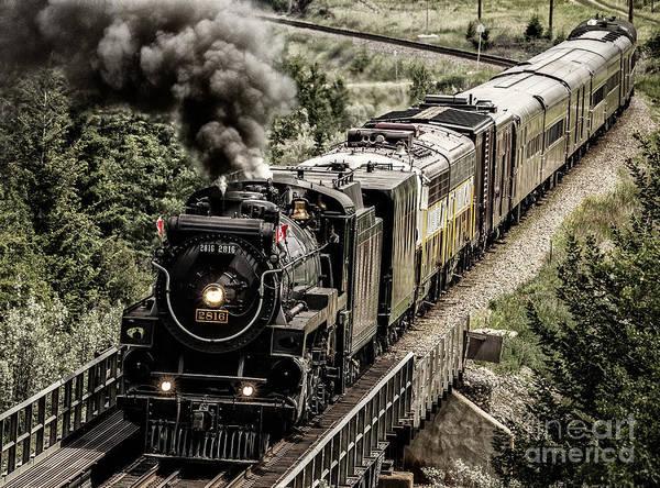 Photograph - 2816 Empress At Seebee Crossing by Brad Allen Fine Art