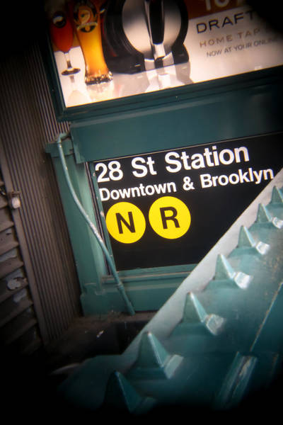Wall Art - Photograph - 28th Station Brooklyn And Downtown by Jimmy Taaffe