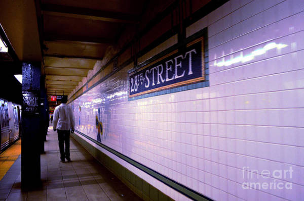Photograph - 28th Street Subway New York City by Christopher Shellhammer