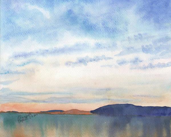 Painting - 29 Sunrise by Betsy Hackett