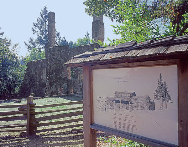 Photograph - 2b6396 Ruins Of Wolf House by Ed Cooper Photography