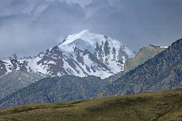Photograph - 2d07508 High Peak In Lost River Range by Ed Cooper Photography