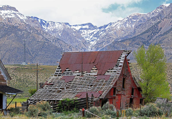 Photograph - 2d07506 Old Barn by Ed Cooper Photography