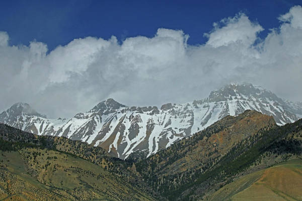 Photograph - 2d07509 High Peaks In Lost River Range by Ed Cooper Photography