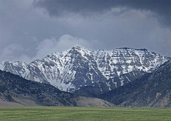 Photograph - 2d07510 Peak In Lost River Range by Ed Cooper Photography