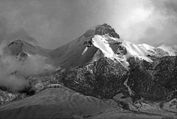 Photograph - 2d07513-bw Mt. Mccaleb by Ed Cooper Photography