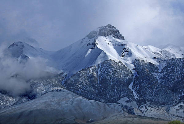 Photograph - 2d07513 Fresh Snow On Mt. Mccaleb by Ed Cooper Photography