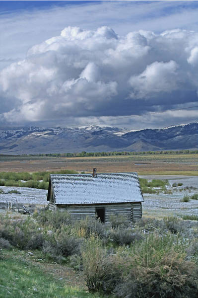Photograph - 2d07515 Abandoned Cabin by Ed Cooper Photography