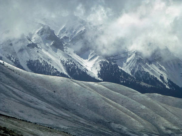 Photograph - 2d07522 Dc Storm Clouds Over Lost River Range by Ed Cooper Photography