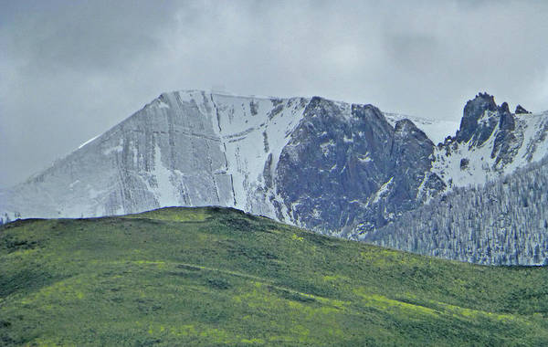 Photograph - 2d07524-dc Peaks Above Mackay by Ed Cooper Photography