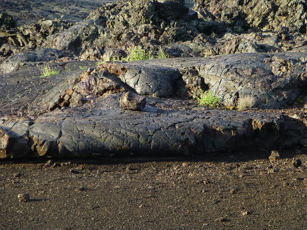 Photograph - 2d07701 Leading Edge Frozen Lava In Craters Of The Moon by Ed Cooper Photography
