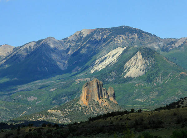 Photograph - 2d10392-h Needle Rock 4 by Ed Cooper Photography
