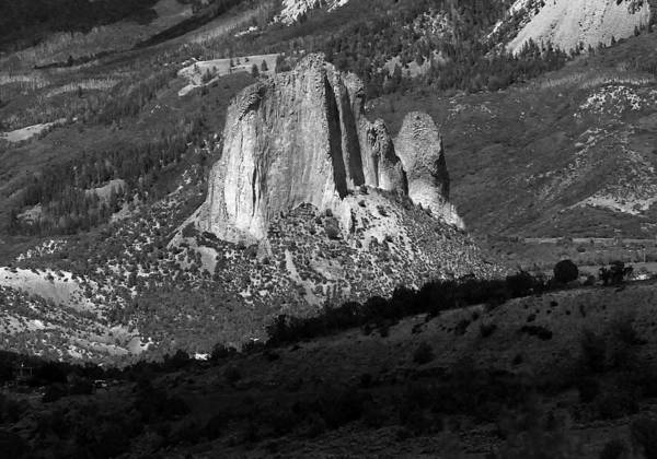 Photograph - 2d10394-e-bw Needle Rock 5 by Ed Cooper Photography