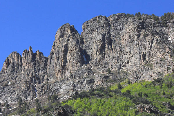 Photograph - 2d11119 Ramparts In Ruby Mountains by Ed Cooper Photography