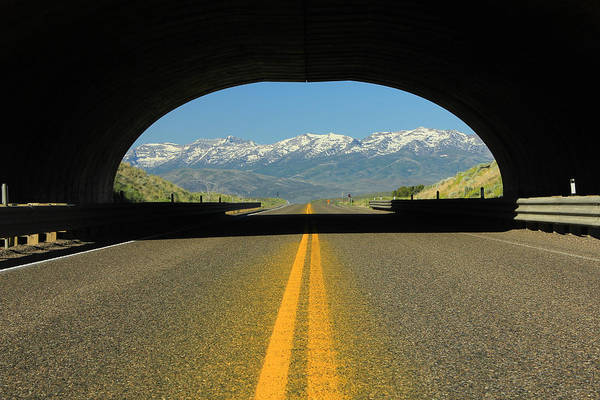 Photograph - 2d11130 Animal Overpass In Nevada 2 by Ed Cooper Photography