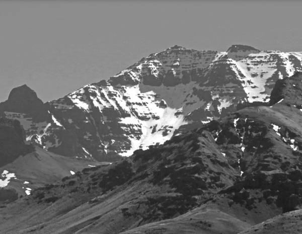 Photograph - 2da5922 Bw Northeast Face Steens Mountain  by Ed Cooper Photography