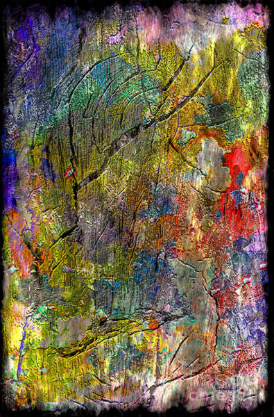Painting - 2m Abstract Expressionism Digital Painting by Ricardos Creations