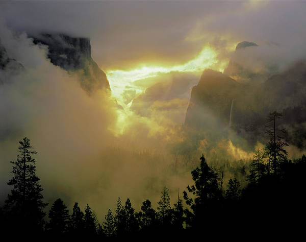 Photograph - 2m6633 Storm Over Yosemite by Ed Cooper Photography
