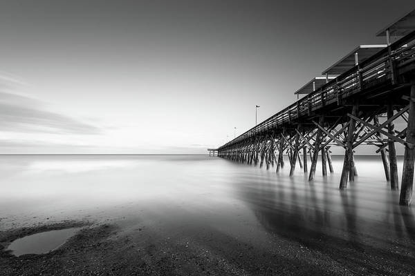 Wall Art - Photograph - 2nd Ave Pier Sunset by Ivo Kerssemakers