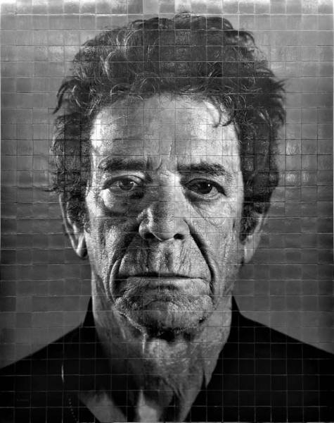 Photograph - 2nd Ave Subway Art Lou Reed B W 1 by Rob Hans
