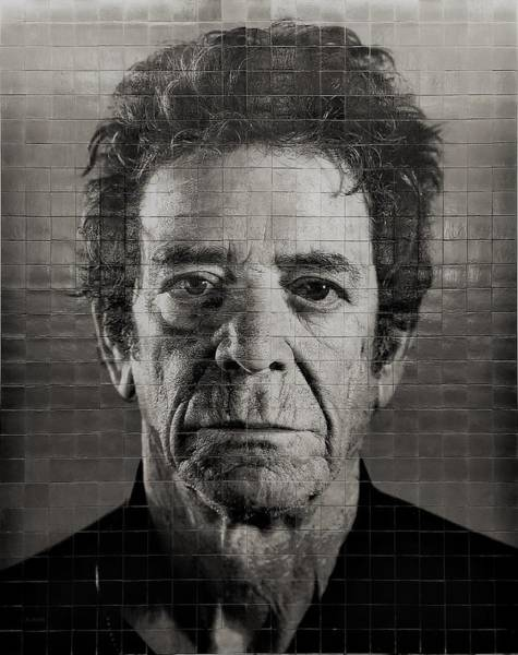 Photograph - 2nd Ave Subway Art Lou Reed B W 2 by Rob Hans